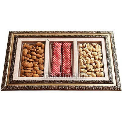 Dry Fruit Chocolate Tray STDFCC2763X1