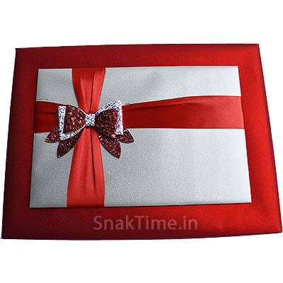 Red Bow Dry Fruit Gift ST1398X11
