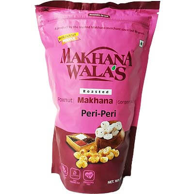 Roasted Peri-Peri Makhana Lotus Seeds Foxnut