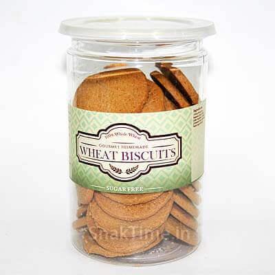 Sugar Free Whole Wheat Cookies